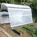 Heras panel poly tunnel