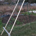 geasel or g.easel (gardeners easel), new allotment idea, clever design